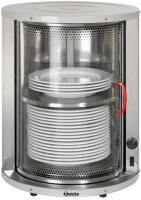 Tellerwärmer mit Glastür, 30-40 Teller
