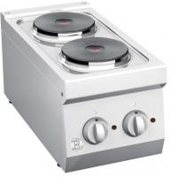 Elektroherd 2 Platten ø180mm 2.0 kW