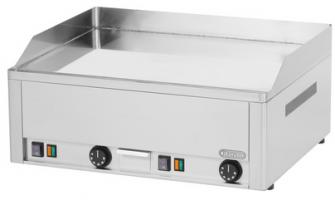 Elektro-Griddleplatte 650, Chrom, glatt
