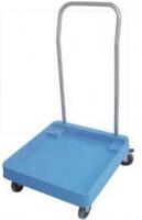 Geschirrkorb-Rollwagen mit Griff